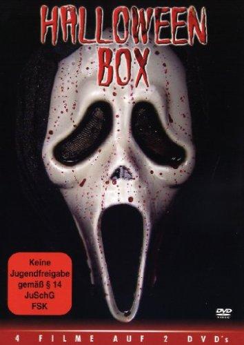 Halloween Box (Monster im Nachtexpress-Warriors Of Terra-Pervert!-Vampires Anonymous) mit Klingeltöne,Tattoo und Wallpaper [2 DVDs]