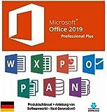 Diese Microsoft Office 2019 Version enthält: -Word 2019 zur Textverarbeitung -Excel 2019 zur Tabellenkalkulation -PowerPoint 2019 zur Präsentationserstellung -Outlook 2019 als Mail-, Kalender- und Kontaktverwaltungsprogramm -OneNote 2019 zum Verfasse...