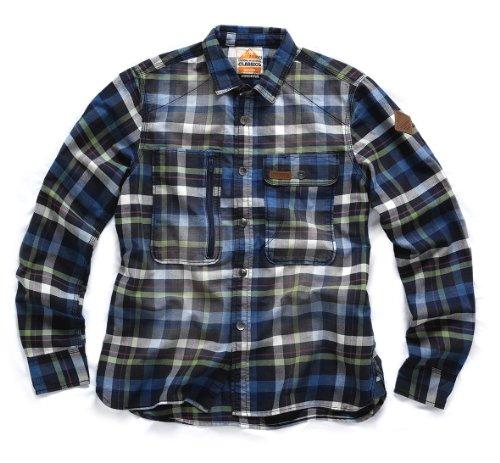 Preisvergleich Produktbild Scruffs Karo Hemd Classic Arbeitsplatz-Holzfällerjacke 100% Baumwolle, T51648