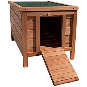 Home Discount Wooden Pet Rabbit House Hutch, Guinea Pig Animal Outdoor Hide
