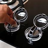 CanVivi Herd Knopf Abdeckung Schutz Transparent Bedienelemente Schutz für Ofen-Bedienungsknöpfe