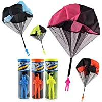 mciskin 10pcs port/átil plegable ropa Perchas con 3 m resistente al viento tendedero port/átil para viajes color al azar
