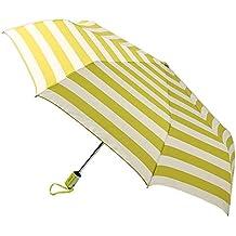 Cebbay-Paraguas Plegable Paraguas Automático a Prueba de Viento y Estable Raya,Robusto,