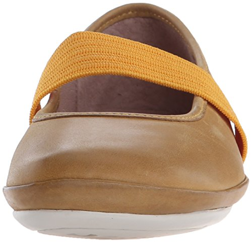 Camper Right Kids, Ballerines fermées fille Jaune - Gelb (Dark Yellow)