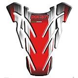 Tankpad Motorad Draht Muster Tankschutz ' Monster Ducati Corse Livrea'' Polymer 3D