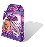 John Adams - Funky Fashion - Funky Braids - Kit pour Tresses de Perles (Import Royaume Uni) - Concevoir et fabriquer des tresses colorées - Perles colorées assorties - Comprend 3 papillon Clio - Age: 7 +