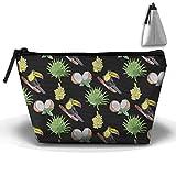 Coconut Trapeztasche, Aufbewahrungstasche, Doppeldruck, Handtasche, Reißverschluss, Kosmetiktasche,...