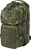 normani US Assault Pack Small, Rucksack, 25 Liter Farbe Flecktarn