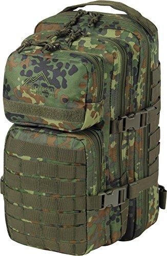 normani US Rucksack I Daypack - Praktischer Rucksack der US Army Farbe Flecktarn