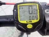 Sienoc Wireless Drahtloser Fahrradcomputer Multi Funktionen Radfahren Fahrrad Entfernungsmesser Smart Tachometer Wasserdicht Bike Computer