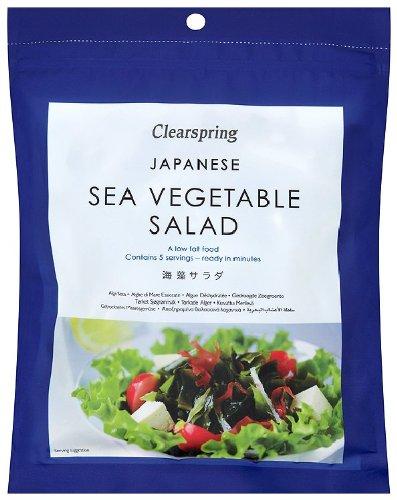 Clearspring Salades d'Algues Japonaises 25 g - Lot de 3
