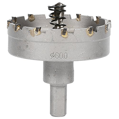 Lochsäge Cutter, Zahnspitze Spitzer Bohrer Durable Hartmetall Legierung Lochschneider 15mm / 38mm / 50mm / 55mm / 60mm(2.4inch)