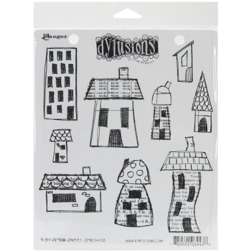 dylusions-briefmarken-gummi-um-den-rand-selbst-briefmarken-right-up-your-street-mehrfarbig