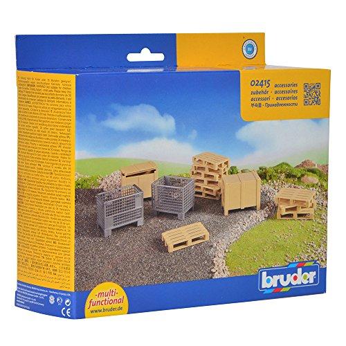 Image of Bruder Accessories Logistics Set