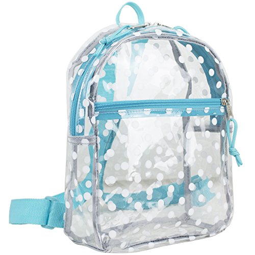 Clear backpack – Eastsport Petit Sac à Dos Transparent
