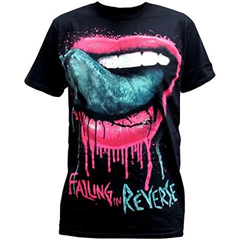 Falling in Reverse - Camiseta - Hombre - Falling In Reverse - Uomo Lips (Camiseta)