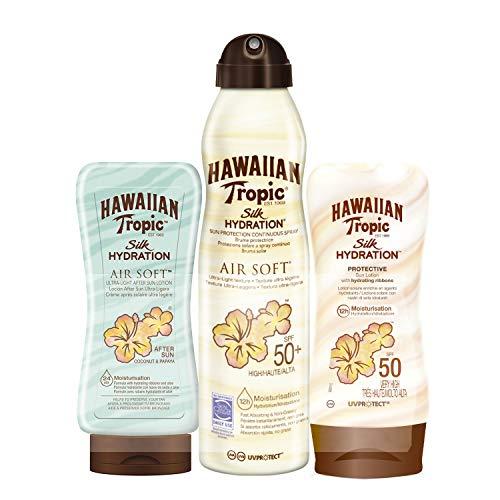 Hawaiian Tropic - Silk Pack - Crema Solar Loción