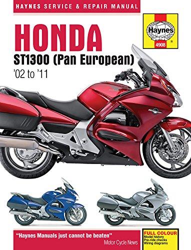 Honda ST1300 (Pan European) '02 to '11 (Haynes Manuals)