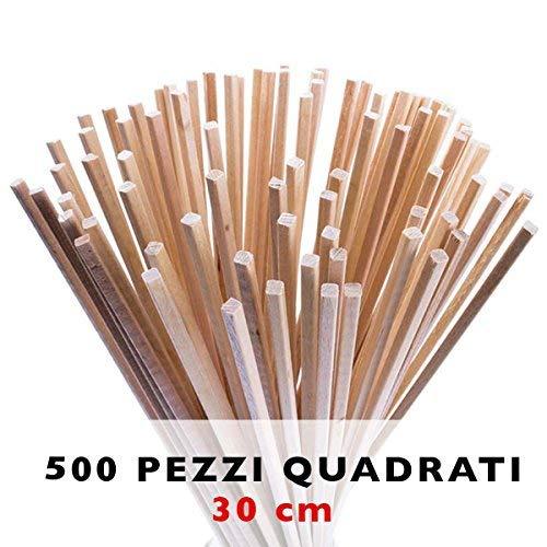 Zuckerwattestäbchen 500 Stück | 30 x 0,4 cm