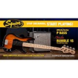 Squier Affinity P-Bass & Rumble 15, BSB · E-Bass Set
