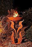 Home Deluxe Feuerschale | Inka | Edelrost