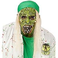Toxic Zombie Máscara de la mitad de la cara