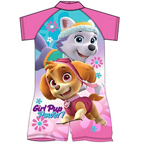 Swim Sun Safe Protection UV Suit 50+ Nick Jr Paw Patrol Girls Swimming Suit All in One