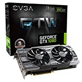 EVGA GeForce GTX 1080 FTW GAMING ACX 3.0, 8GB GDDR5X, RGB LED, 10CM FAN, 10 Power Phases, Double BIOS, DX12 OSD Support