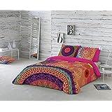 NATURALS Juego De Funda Nórdica Yasin Multicolor Cama 135 (220 x 220 cm + 45 x 150 cm)
