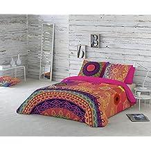 Naturals Funda nórdica Yasin, cama de 135 cm, multicolor