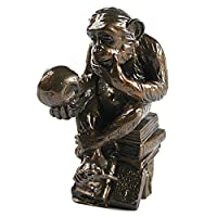 The Darwin Monkey Bronze Figurine RHEINHOLD, WOLFGANG HUGO