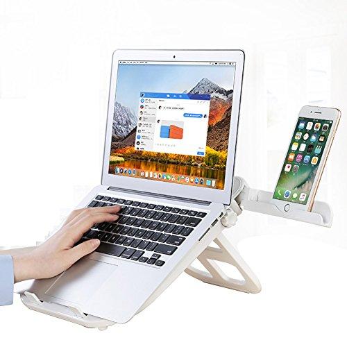 PENGFEI Laptoptisch Betttablett Lapdesks Laptopständer Tragbar Büro Notizbuch Kühlung Regal...