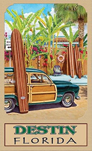 Northwest Art Mall ed-5818BAX Destin Florida Beach Zugang Print von Künstler Evelyn Jenkins Drew, 27,9x 43,2cm