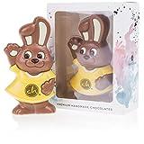 Merry Easter Bunny Yellow | Pasqua | Figura di cioccolato | Coniglietto pasquale al cioccolato | Regalo di Pasqua | per bambini | Ragazzo | Ragazza | Deliziose | Adulti | Deliziose | Amico | moglie