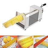 MINGFENG Utensile da Taglio Alimentare Fresa a spirale manuale Twister Taglierina per patatine fritte a mano