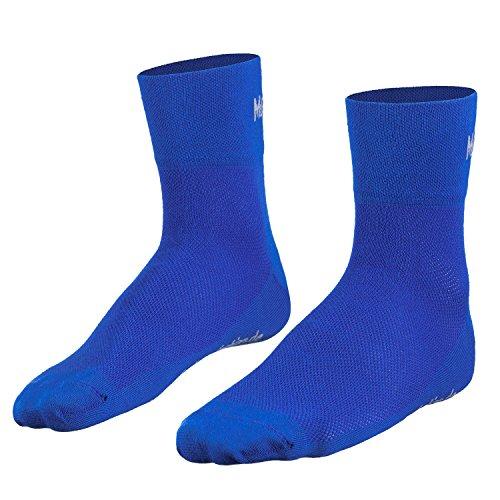 Mount Swiss© Coolmax-Calcetines de Deporte, Primavera/Verano Todo el año otoño/Invierno Primavera, Unisex, Color Azul, tamaño 42