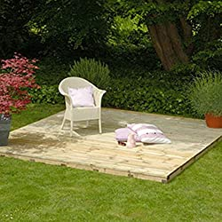 Decking Kit 2.4m x 2.4m Area Free Delivery (2.4m x 2.4m)
