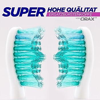 Orax Ersatzbürsten Kompatibel Mit Der Elektrischen Zahnbürste Philips Sonicare - 2x4, 8 Stück 3