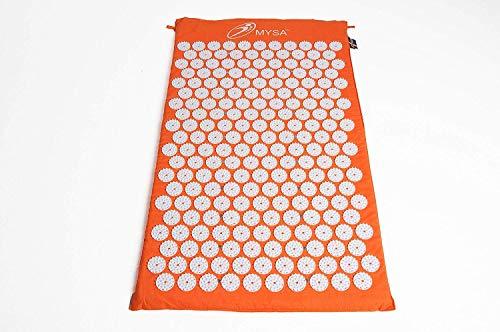 Magnetic Mysa: Originale Exklusive Akupressurmatte mit Magneten für Magnetfeldtherapie. Unübertroffen gegen Rücken / Nackenschmerzen Schlaflosigkeit Stress. Schwedische Qualität CE Naturfasern