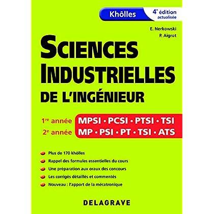 Khôlles sciences industrielles de l'ingénieur