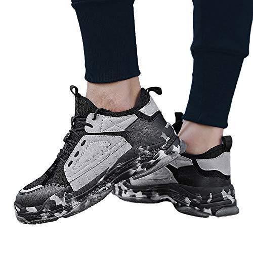 Sneaker Herren Freizeitschuhe Zufällige Arbeiten Schuhe Wanderschuhe Männer Fliegen Weave Joggingchuhe Breathable Turnschuhen mit Leichtigkeits ABsoar