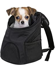 Femor Mochilla Bolsa Bolsa Hombro para llevar Gatos y Perros Mochilla para Mascotas Con Malla Transpirante