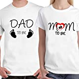 Powerpuff - Dad and Mom to be Unisex Couple T-shirts