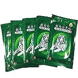 MQ Patch de Baume du Tigre Blanc Vietnam Chauffant Anti-Douleur Soulager Douleurs de Dos Cou Épaule Jambes Musculaire Lombair