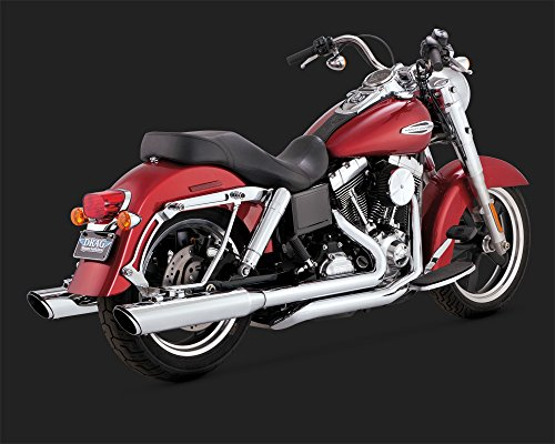 Vance & Hines Switchback twin slash duals per Harley Davidson Dyna FLD