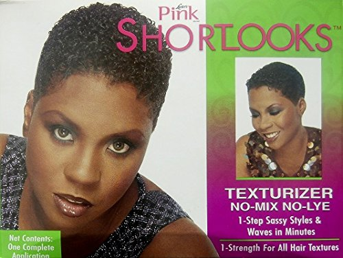 Mix Texturizer (Luster's Luster Pink Shoortlooks Texturizer No Mix - No Lye One Complete Application)