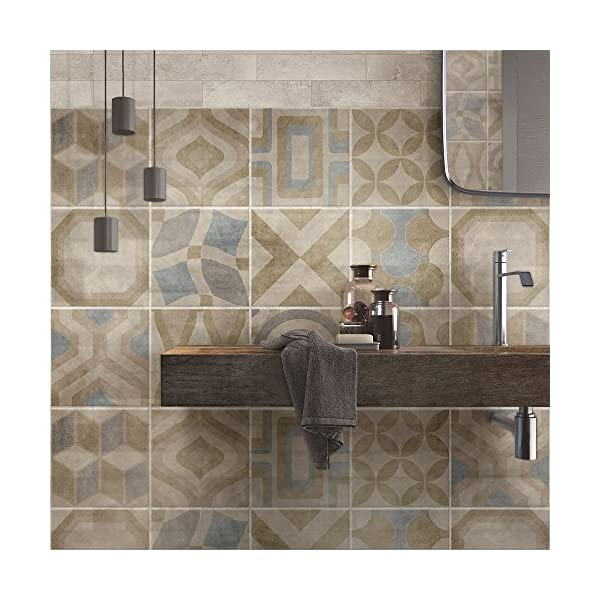 Wall art ps00172 adesivi in pvc per piastrelle per bagno e for Piastrelle in pvc adesive per cucina