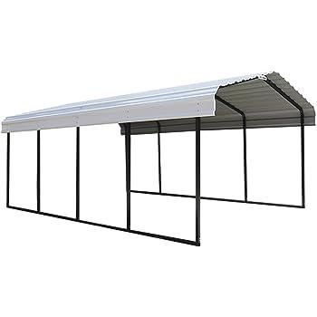 shelter logic stahlcarport unterstand. Black Bedroom Furniture Sets. Home Design Ideas