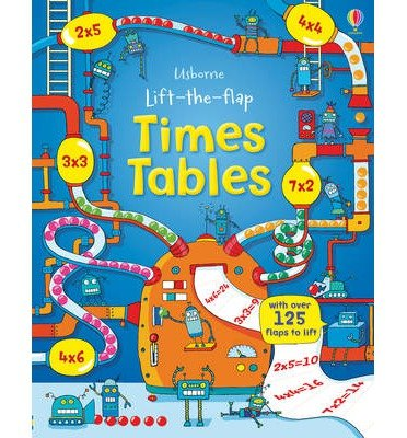 [(Lift the Flap Times Tables Book)] [ By (author) Rosie Dickins, Illustrated by Benedetta Giaufret, Illustrated by Enrica Rusina ] [January, 2014]