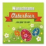 Cera & Toys® Bieretikett - Osterbier - mit Wunschname